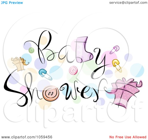 small resolution of free clip art baby shower