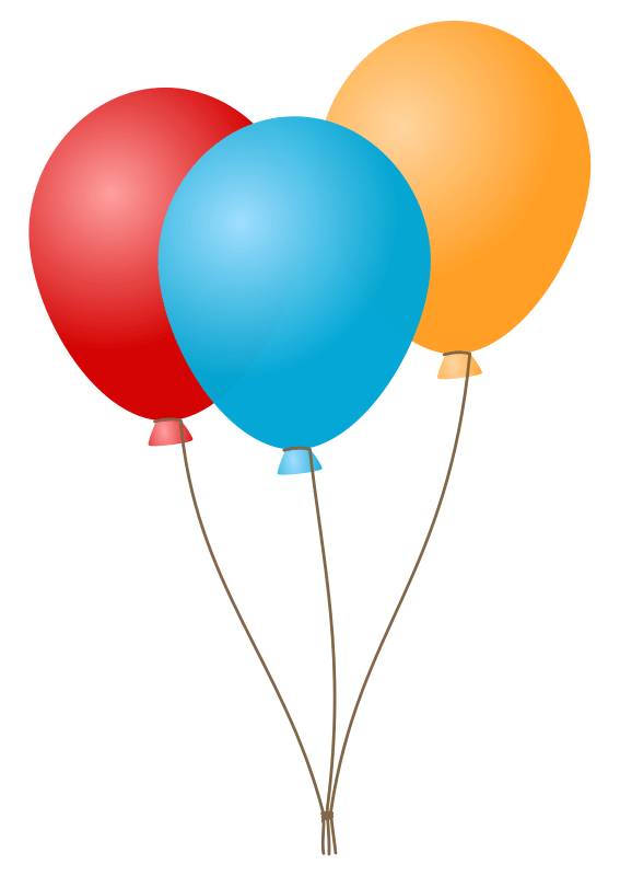 clipart balloon bouquet - clipground