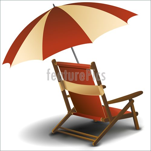beach chairs with umbrellas comfortable side clipart chair and umbrella clipground