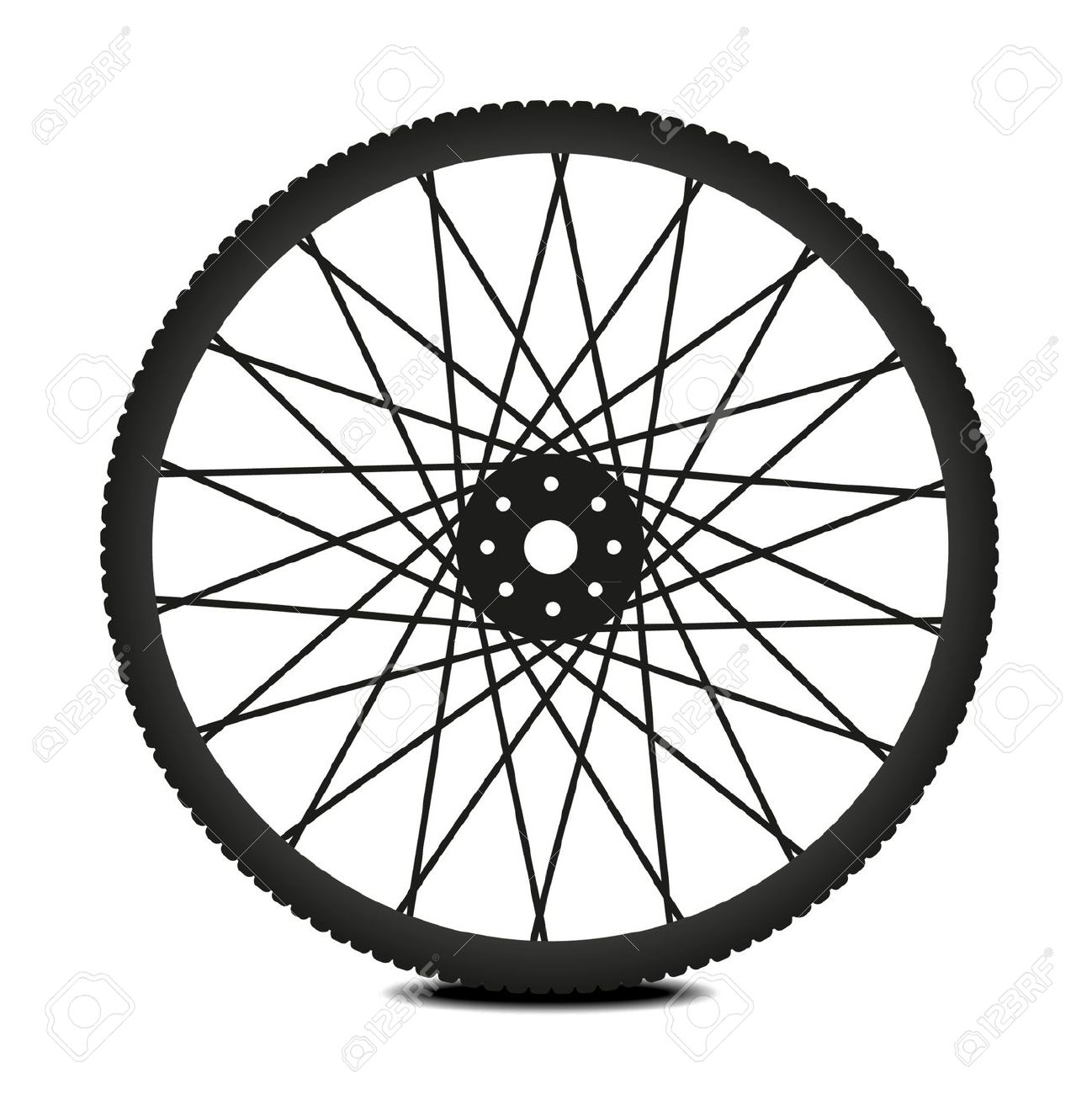 Clipart Bicycle Wheel