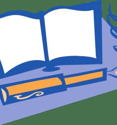 big image png clipart book and pen [ 2400 x 1565 Pixel ]