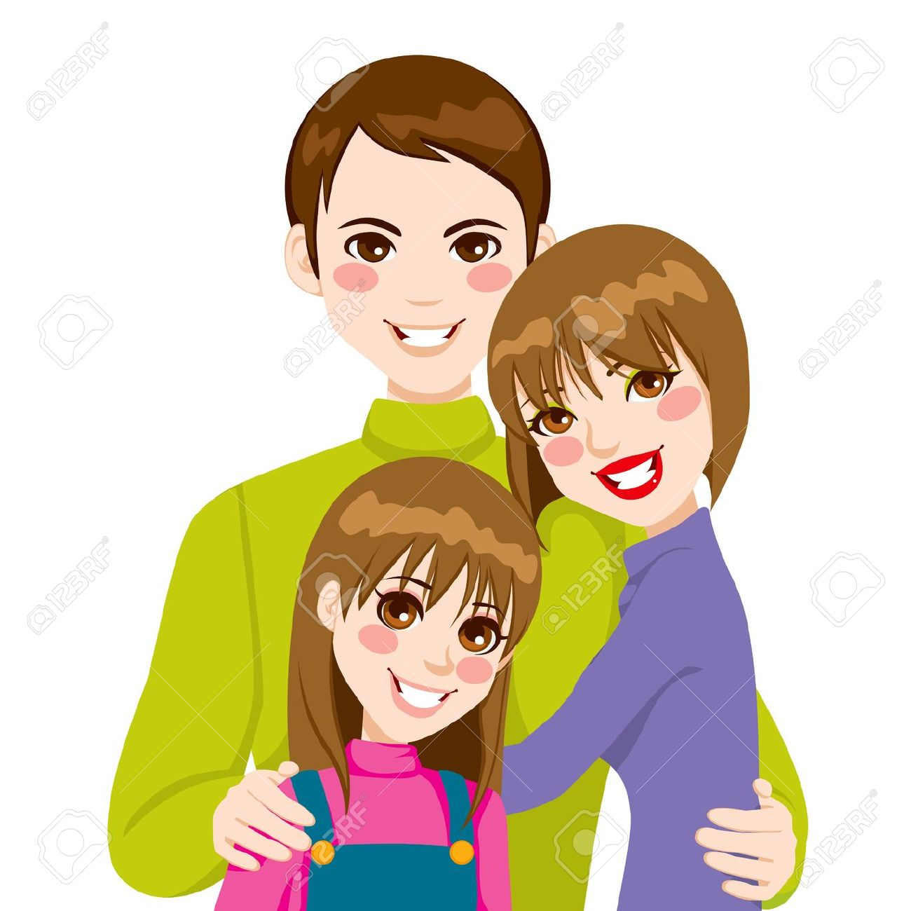 hight resolution of showing post media for cartoon parents hugs