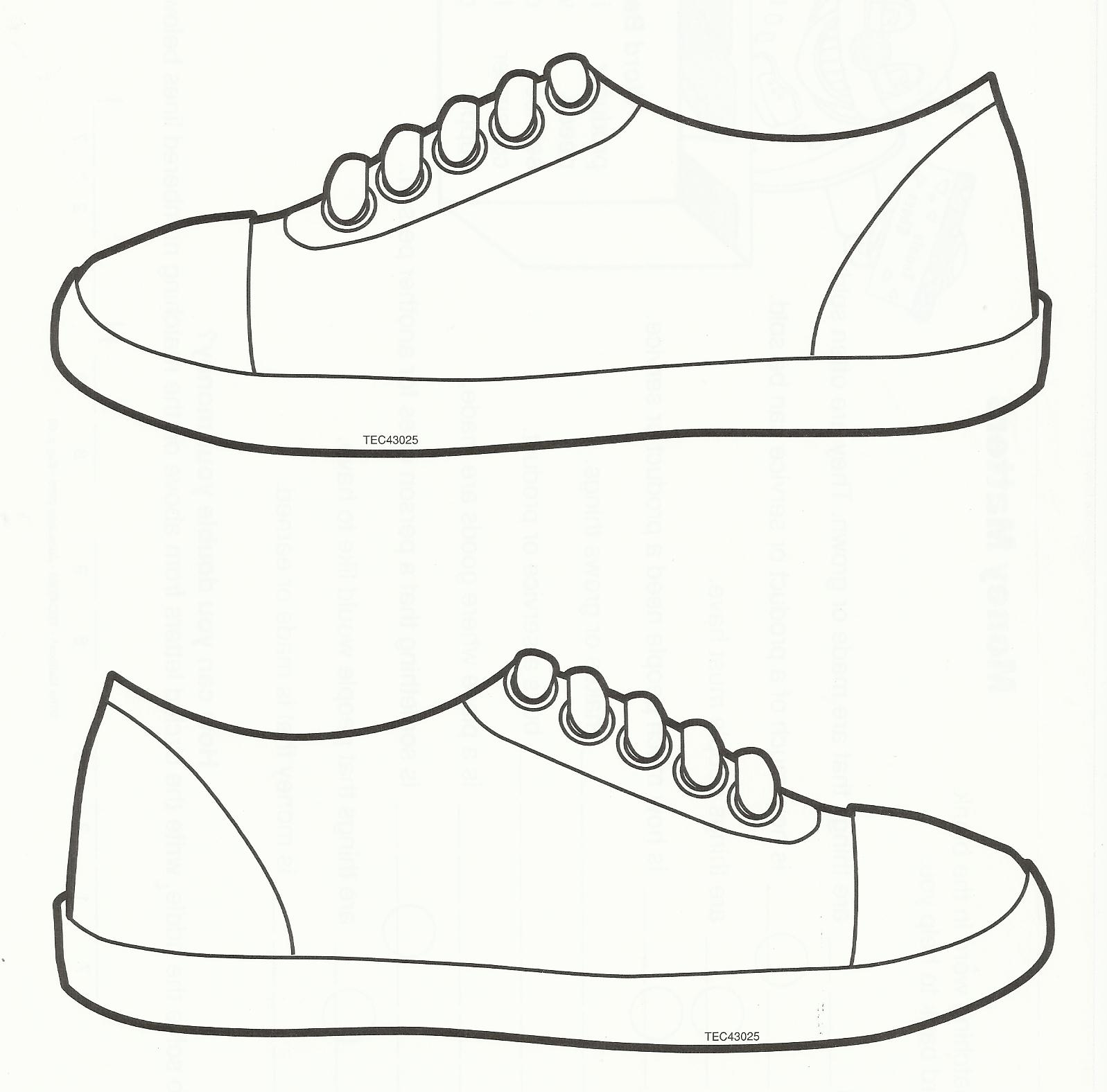 Clipart Boy Template Shoes 20 Free Cliparts