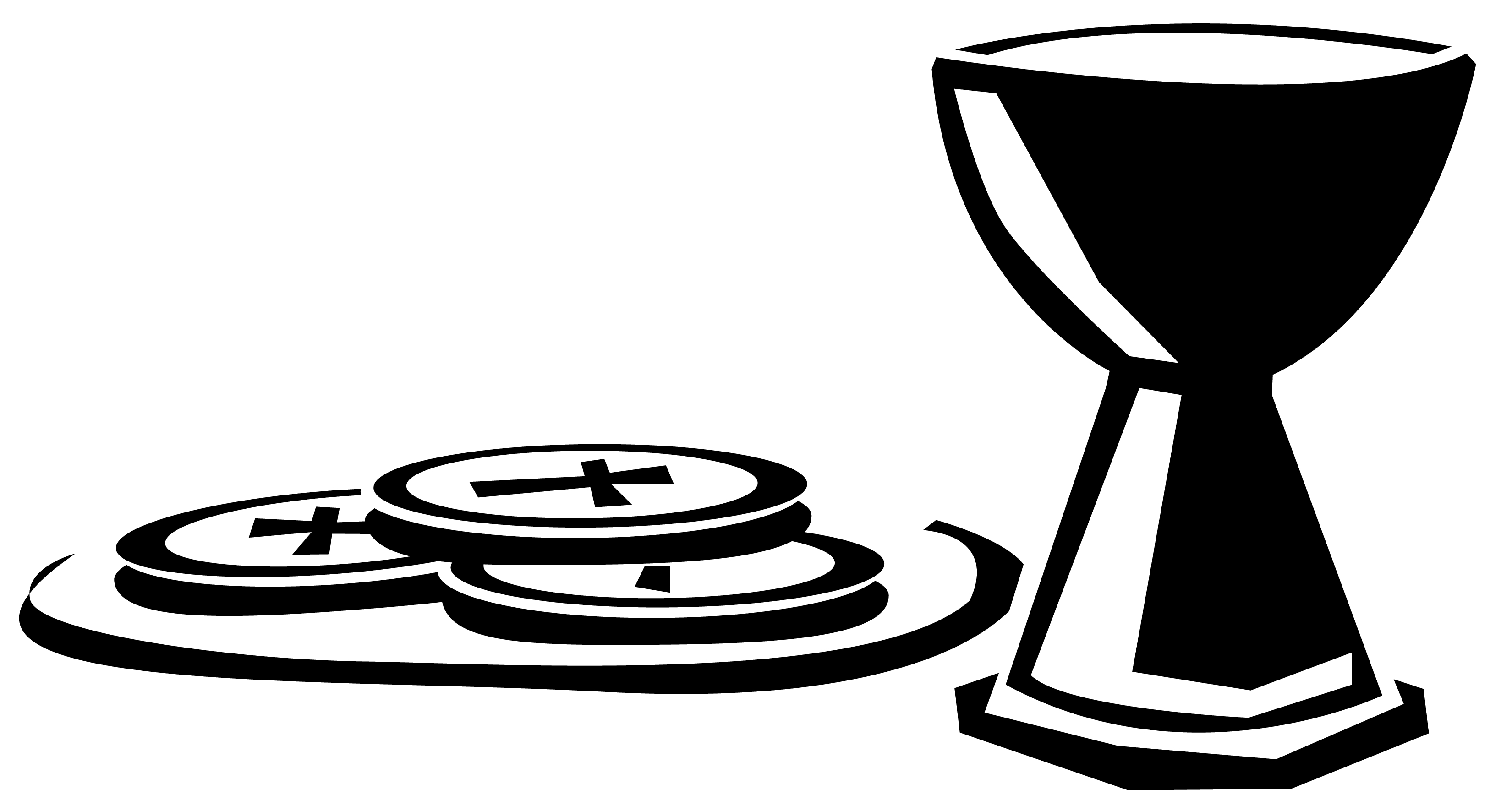 Clipart Chalice With Host