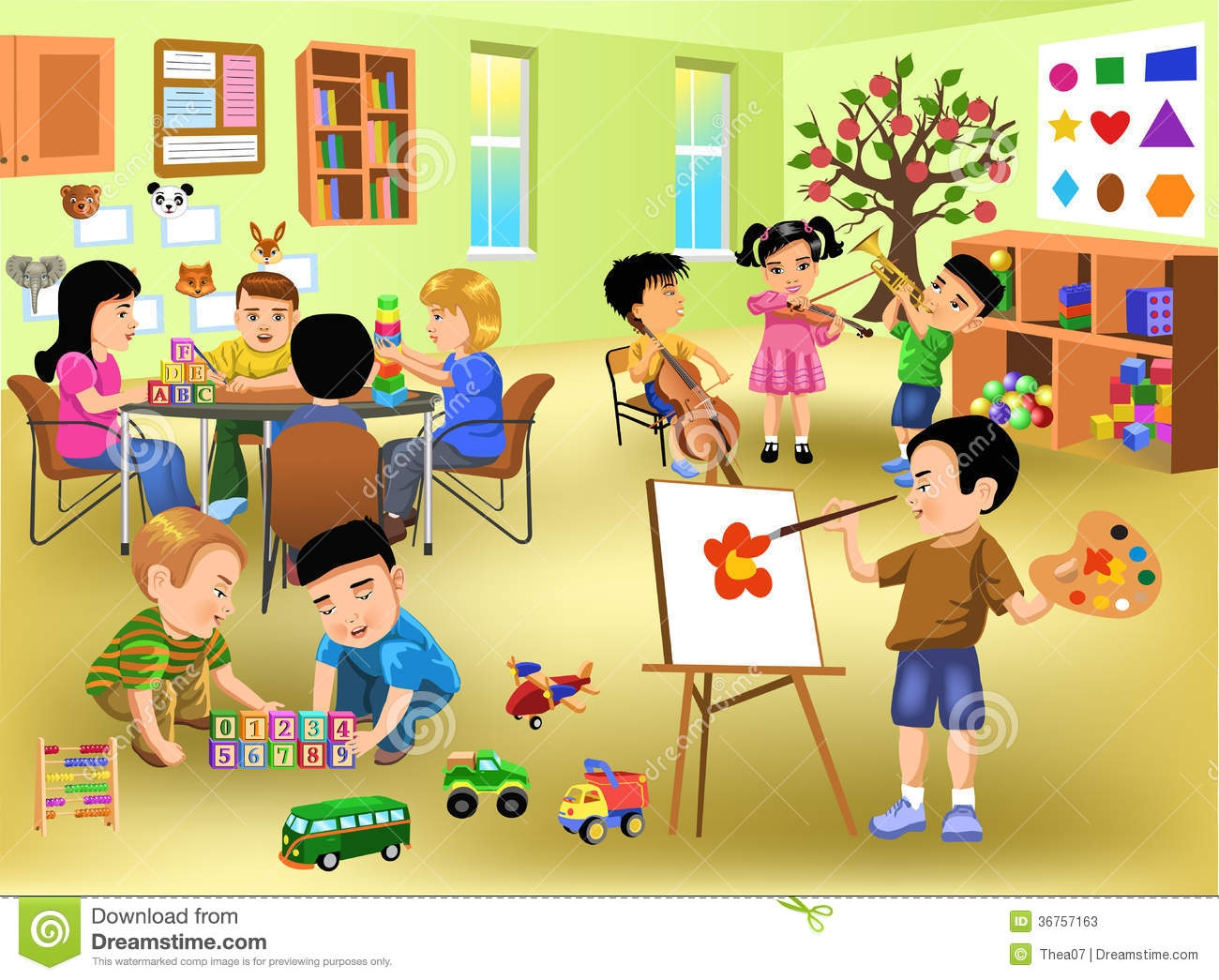 Clipart Classroom Pictures