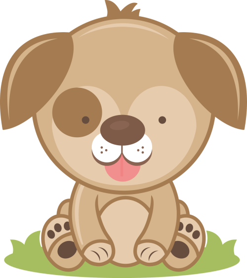 small resolution of cute puppy cliparts