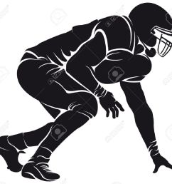 clipart football players silhouette 18 [ 1300 x 1169 Pixel ]