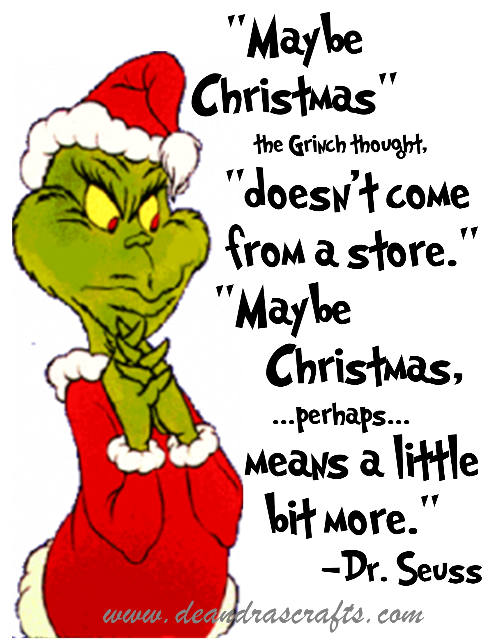 Clipart Grinch Stole Christmas Qoates 20 Free Cliparts