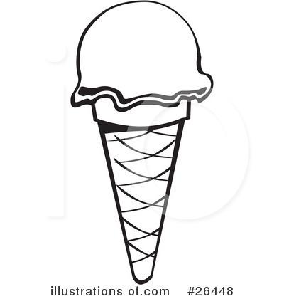clipart ice cream cone black and white 20 free Cliparts