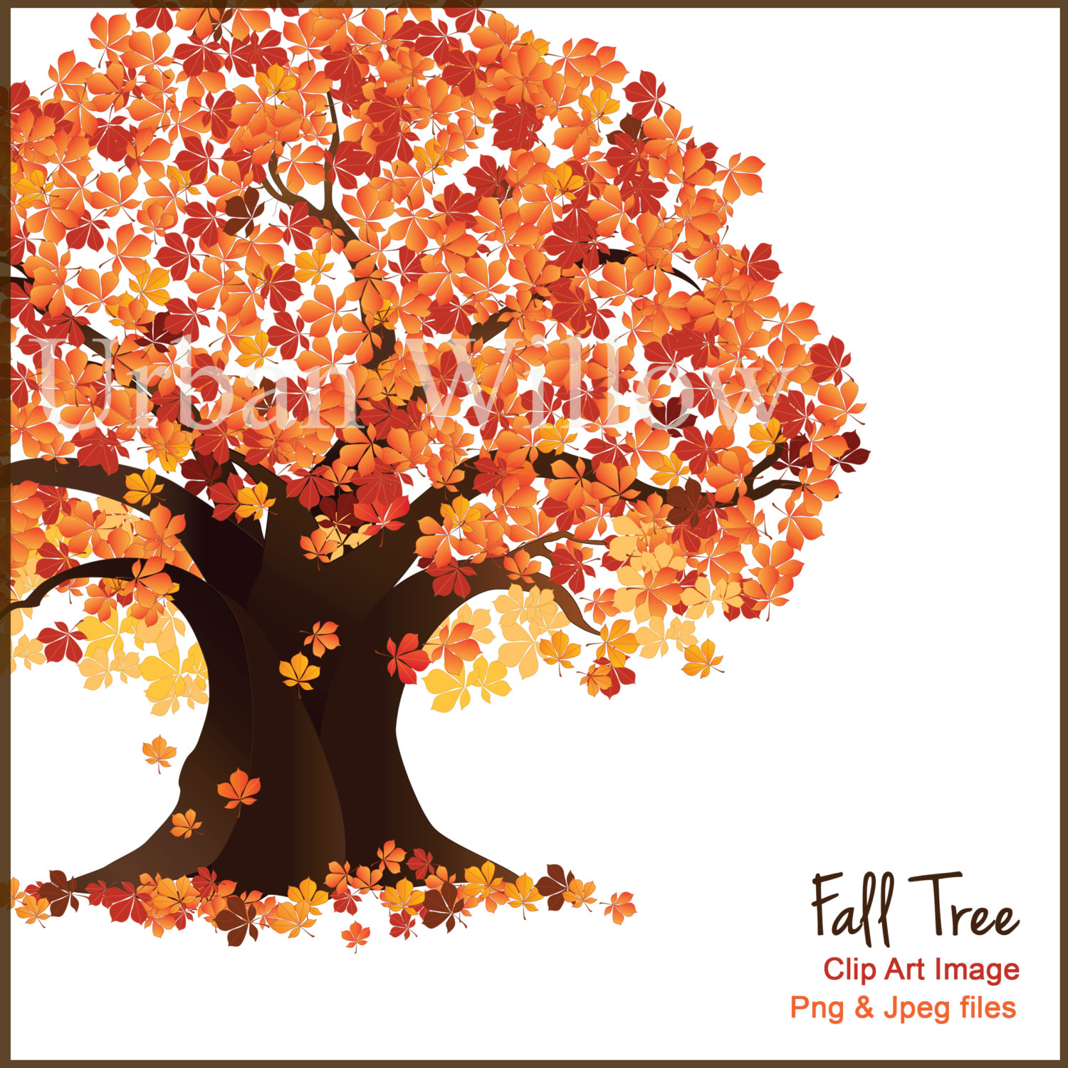 Fall Path Wallpaper Clipart Maple Tree With Falling Seeds Clipground