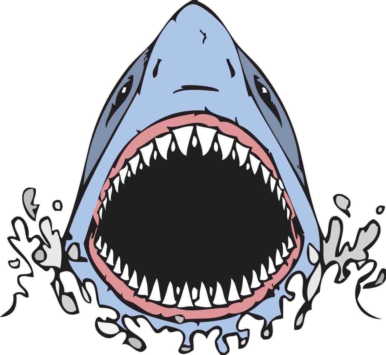 Open Jaws Life Clip Art