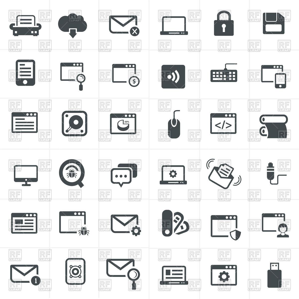 Clipart Network Symbols 20 Free Cliparts