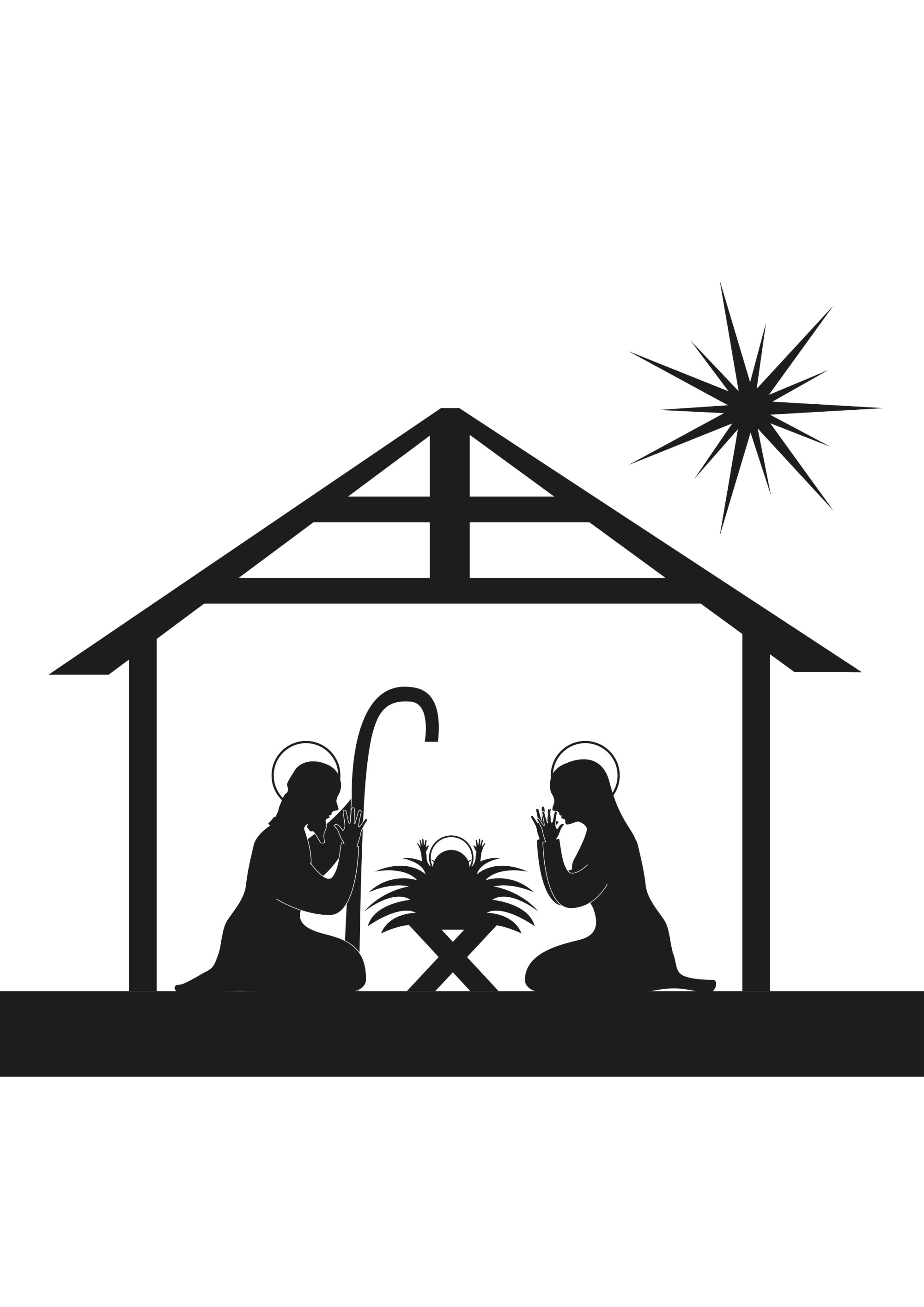 hight resolution of away in a manger