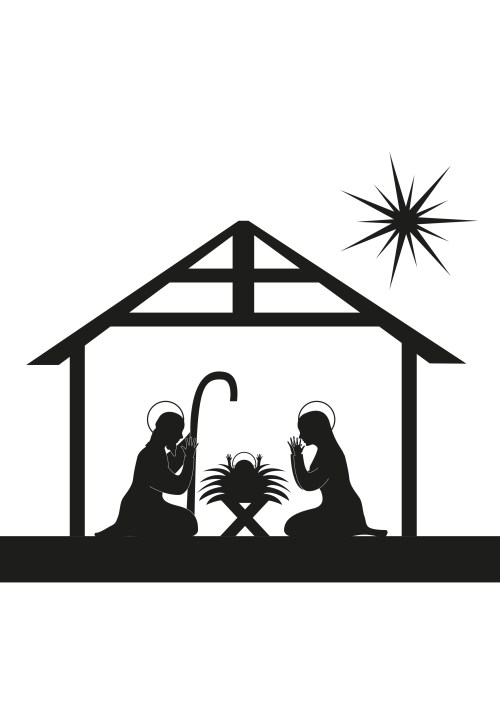 small resolution of away in a manger