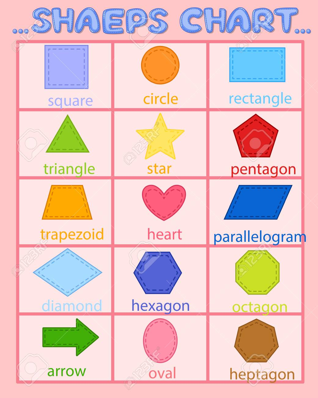 Clipart Of Different Shapes 20 Free Cliparts