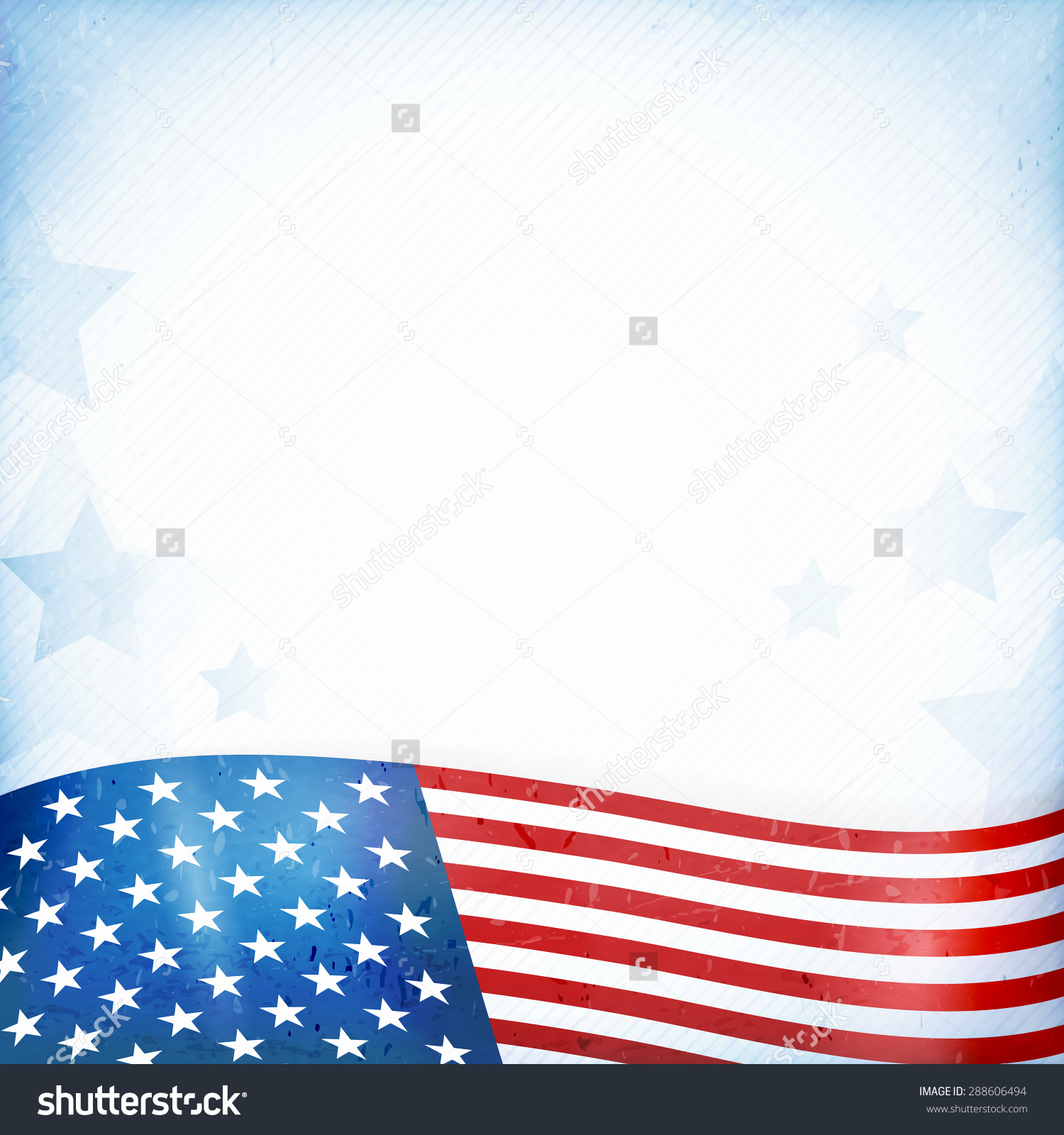 hight resolution of us american flag themed background card stock vector 288606494