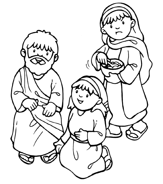 clipart of mary and martha with jesus 20 free Cliparts