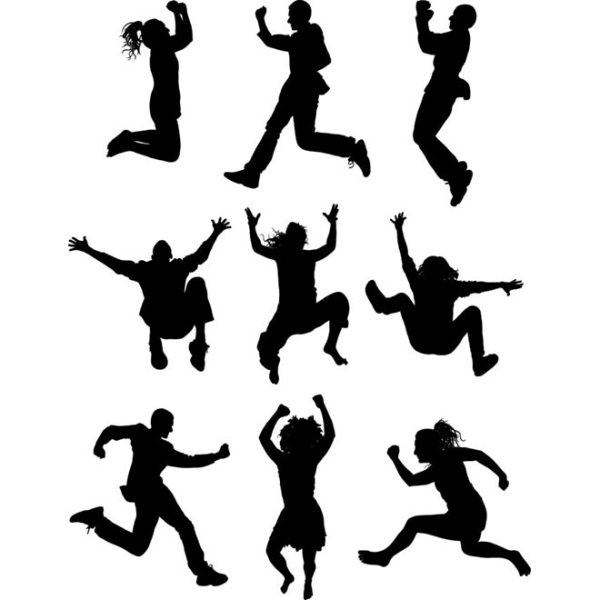 clipart people happy Clipground