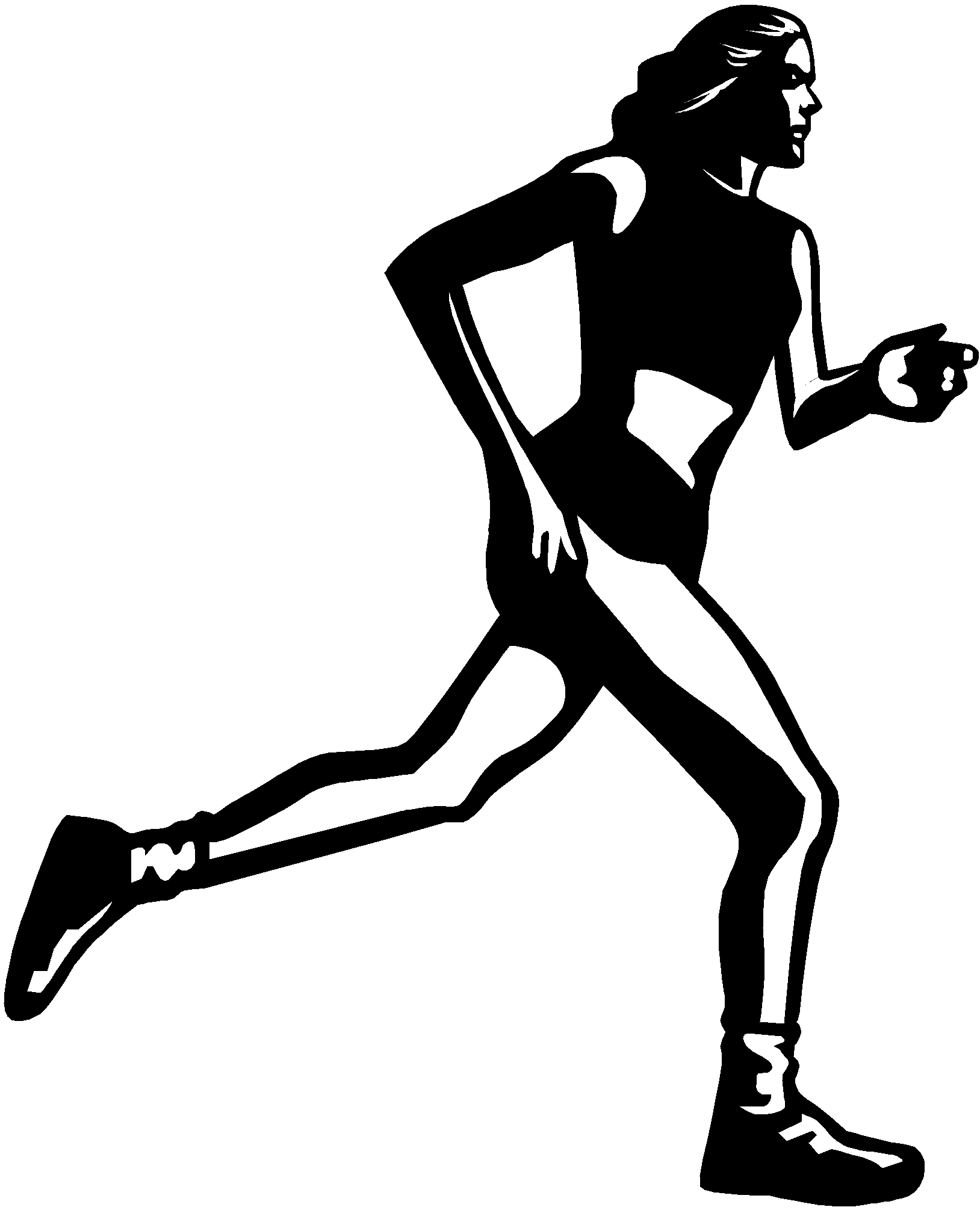 Clipart Picture Of A Girl Running Track 20 Free Cliparts