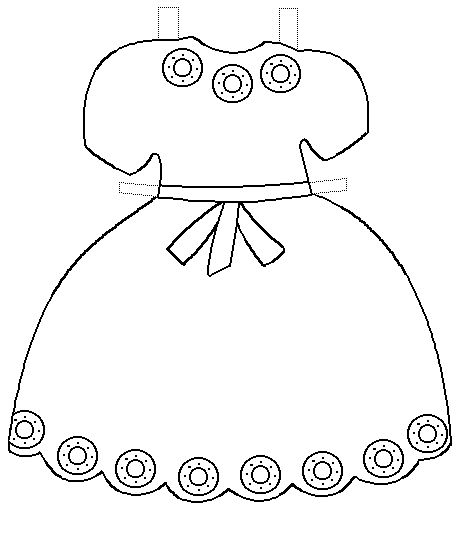 clipart purple dress cut out template 20 free Cliparts