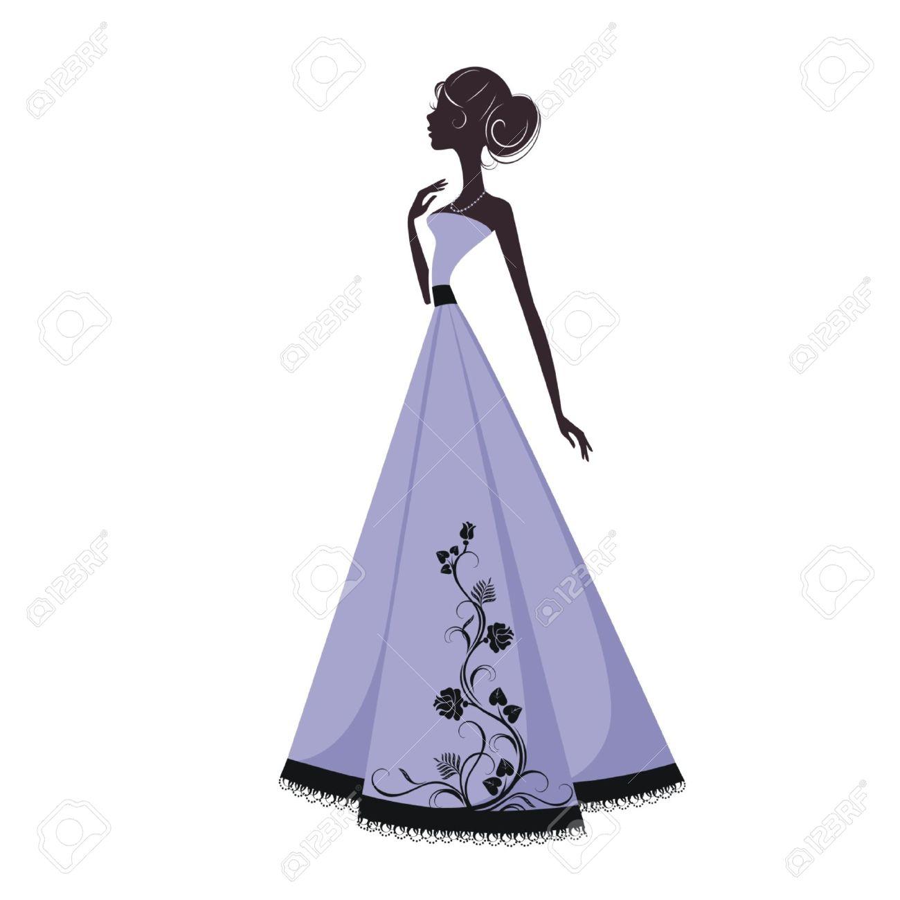clipart robe de soiree  Clipground