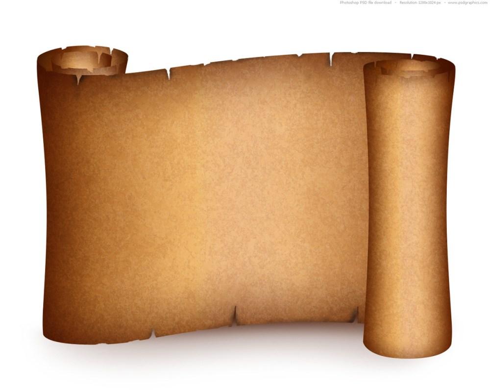 medium resolution of a scroll template