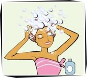 clipart shampoo hair - clipground