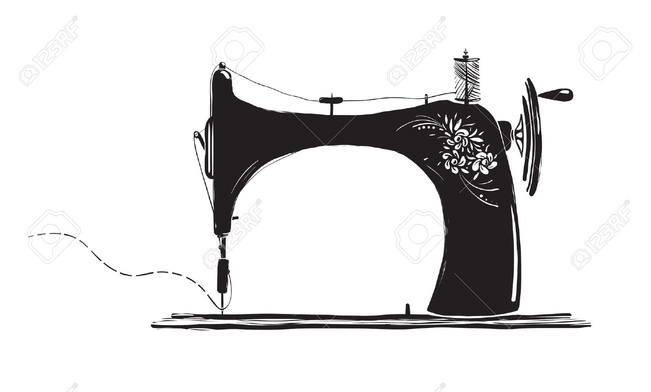 Clipart Silhouette Vintage Sewing Machine 20 Free Cliparts