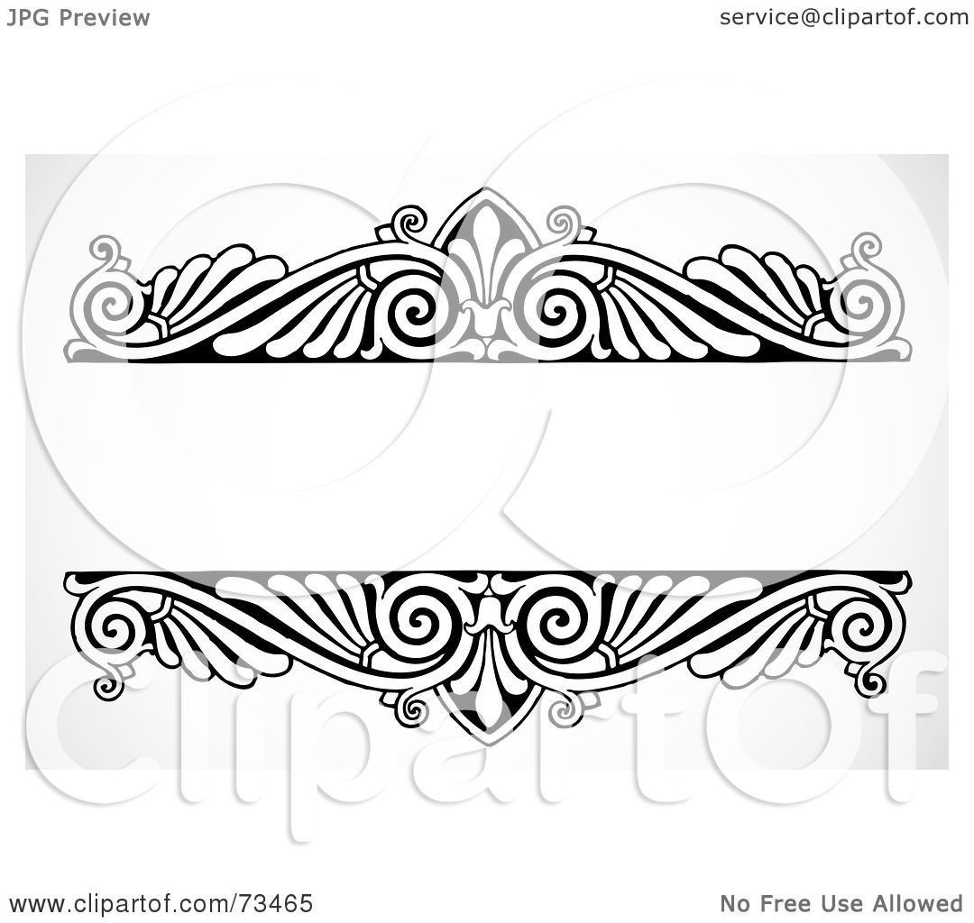 And Borders White Black Frames And Clip Art Hat