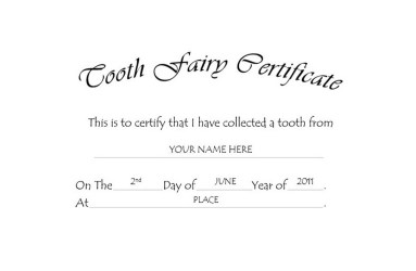 tooth fairy certificate clipart clip template templates certificates word wording geographics clipground call fill