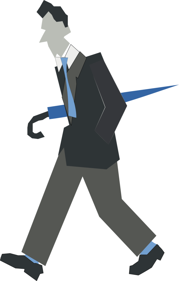 Clipart Walking Person - Clipground