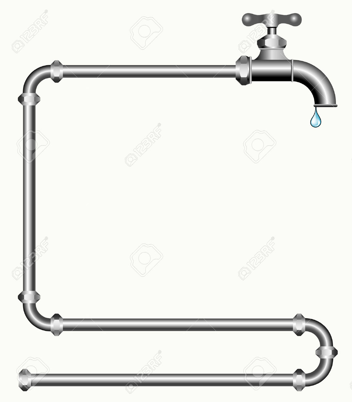 clipart water pipe