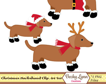 clipart whippet christmas free
