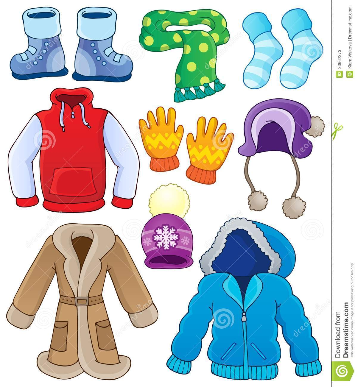 Clothers Clipart