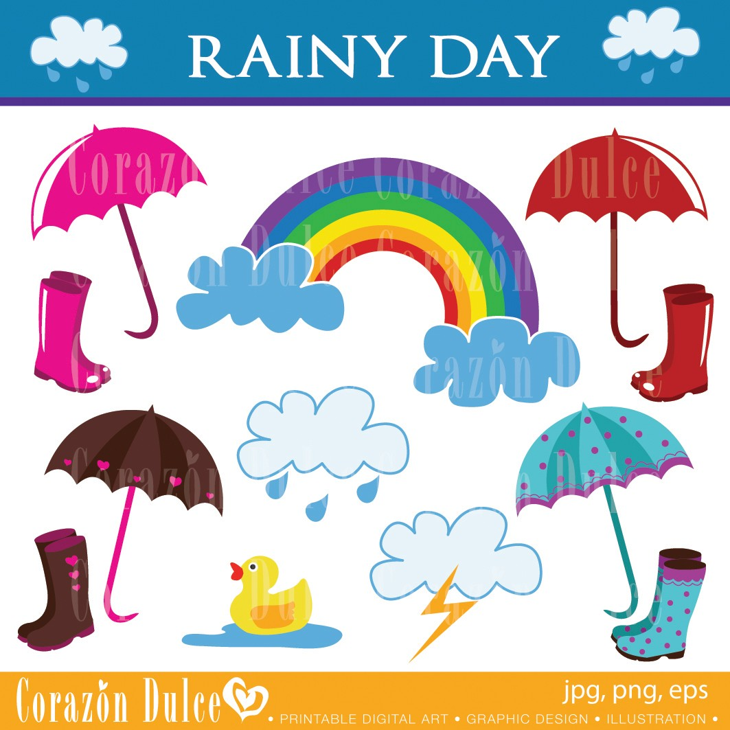 Cloudy Day And Raining Clipart 20 Free Cliparts