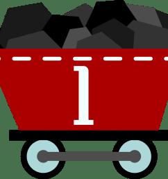 coal train clipart  [ 2398 x 2154 Pixel ]
