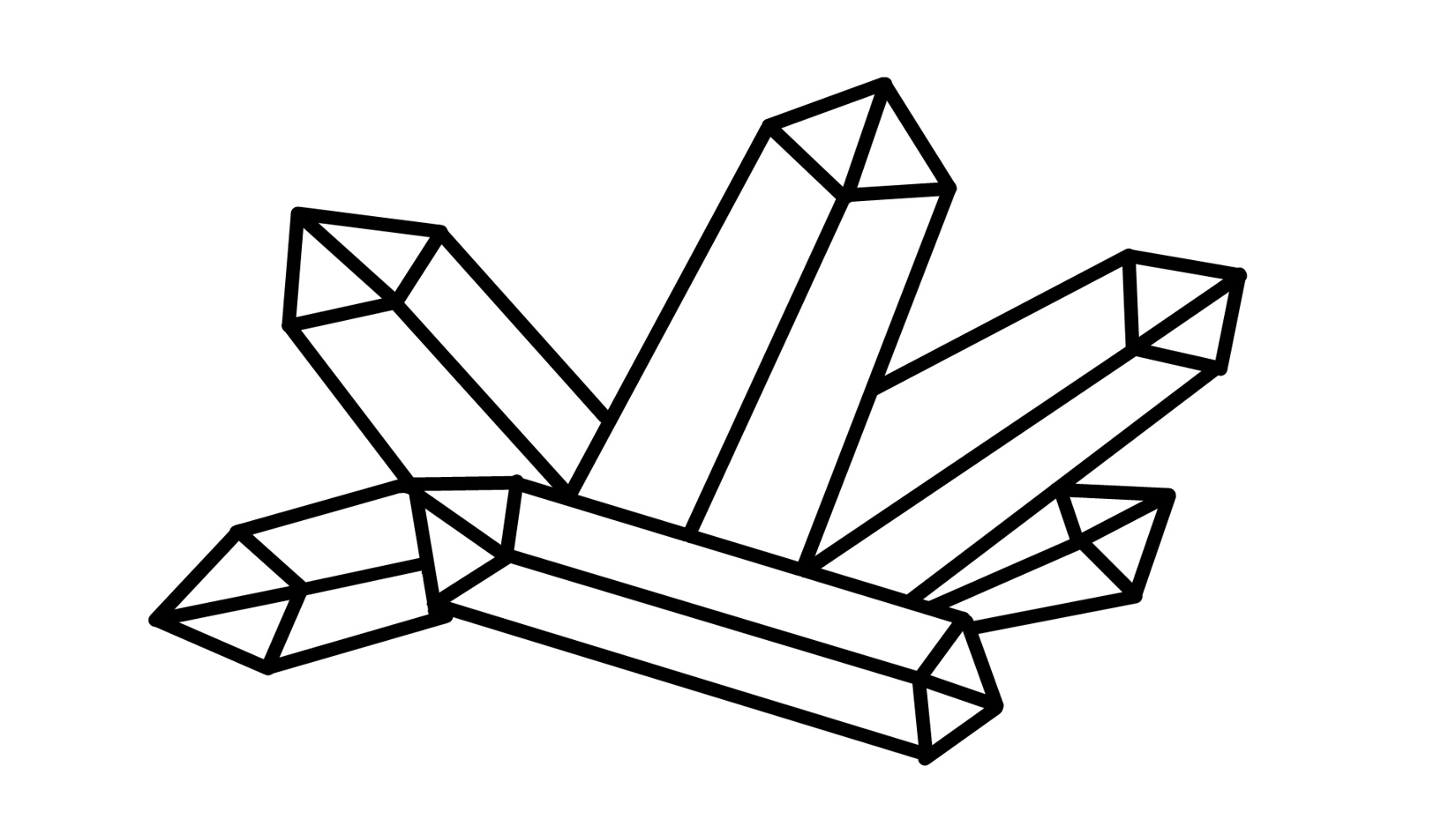 Crystals Clipart