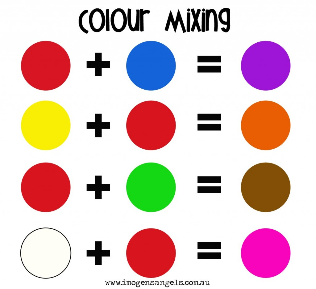 Mixed Colours Clipart
