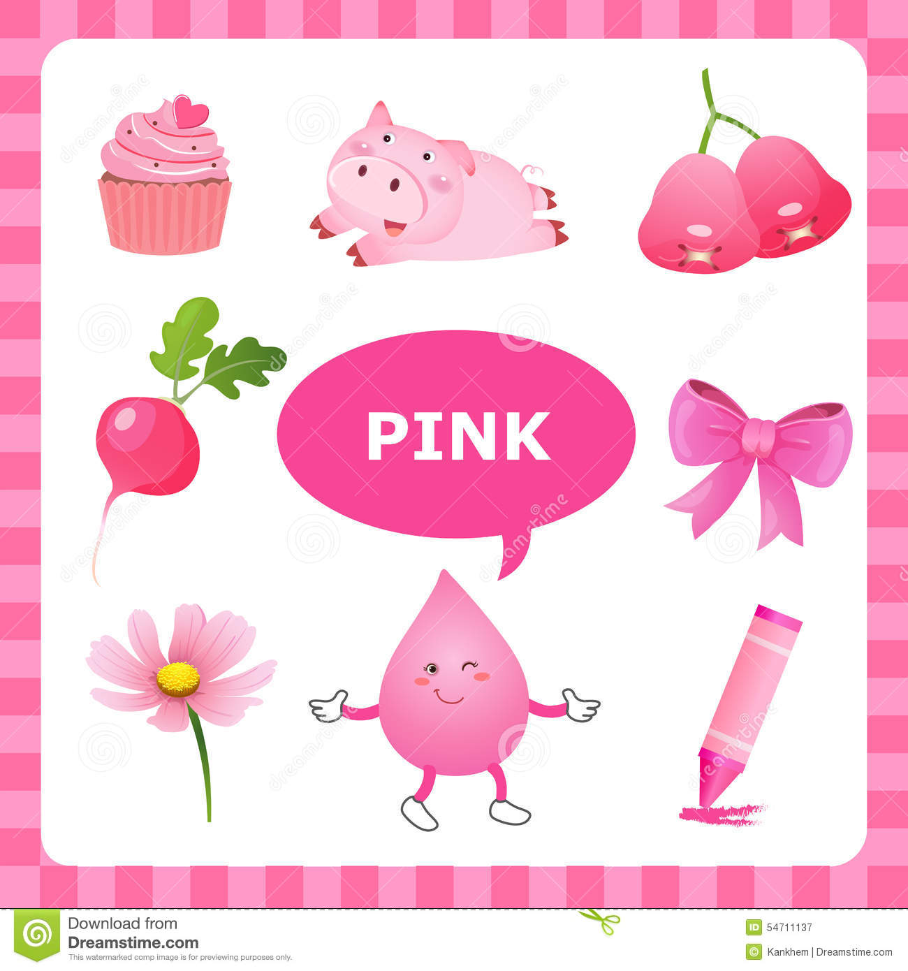 Pink Color Clipart 20 Free Cliparts