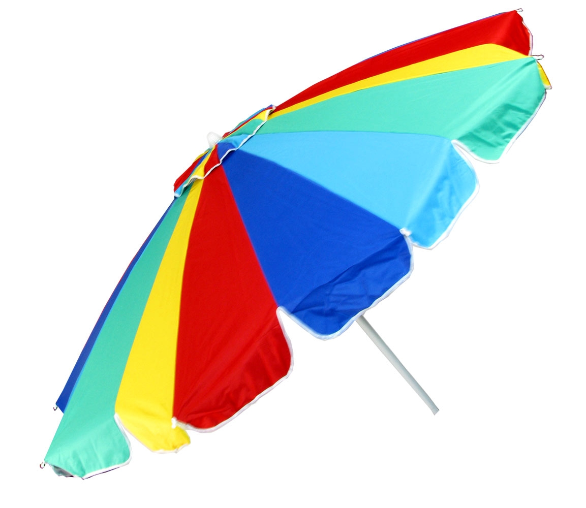beach chair and umbrella clipart folding enclosure colorful clipground