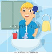 comb hair boy clipart - clipground