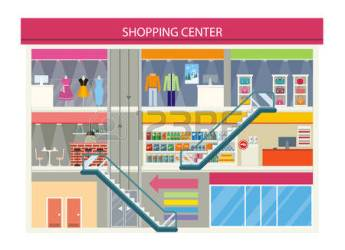 center clipart shopping mall clipground urban commercial