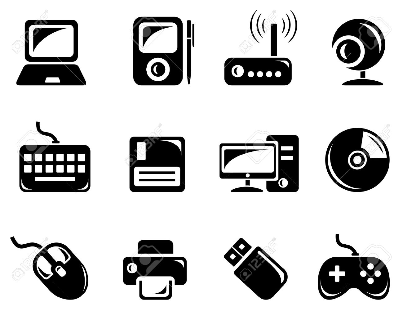 Computer Accessories Clipart 20 Free Cliparts