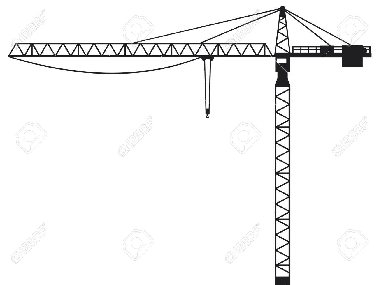 Construction Cranes Clipart