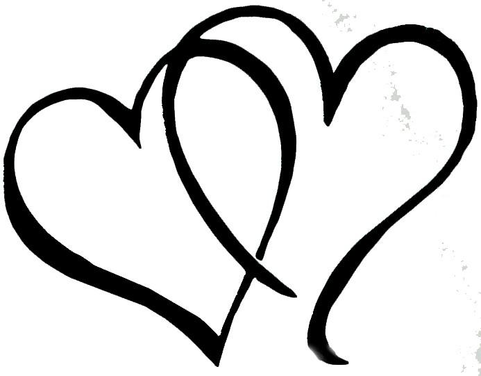 Fancy Lines Hearts