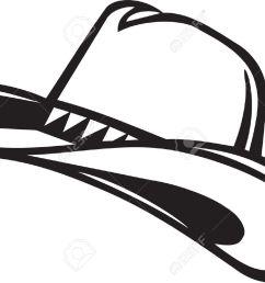 cowboy hat clipart  [ 1300 x 933 Pixel ]