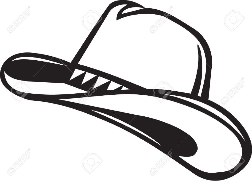 medium resolution of cowboy hat clipart