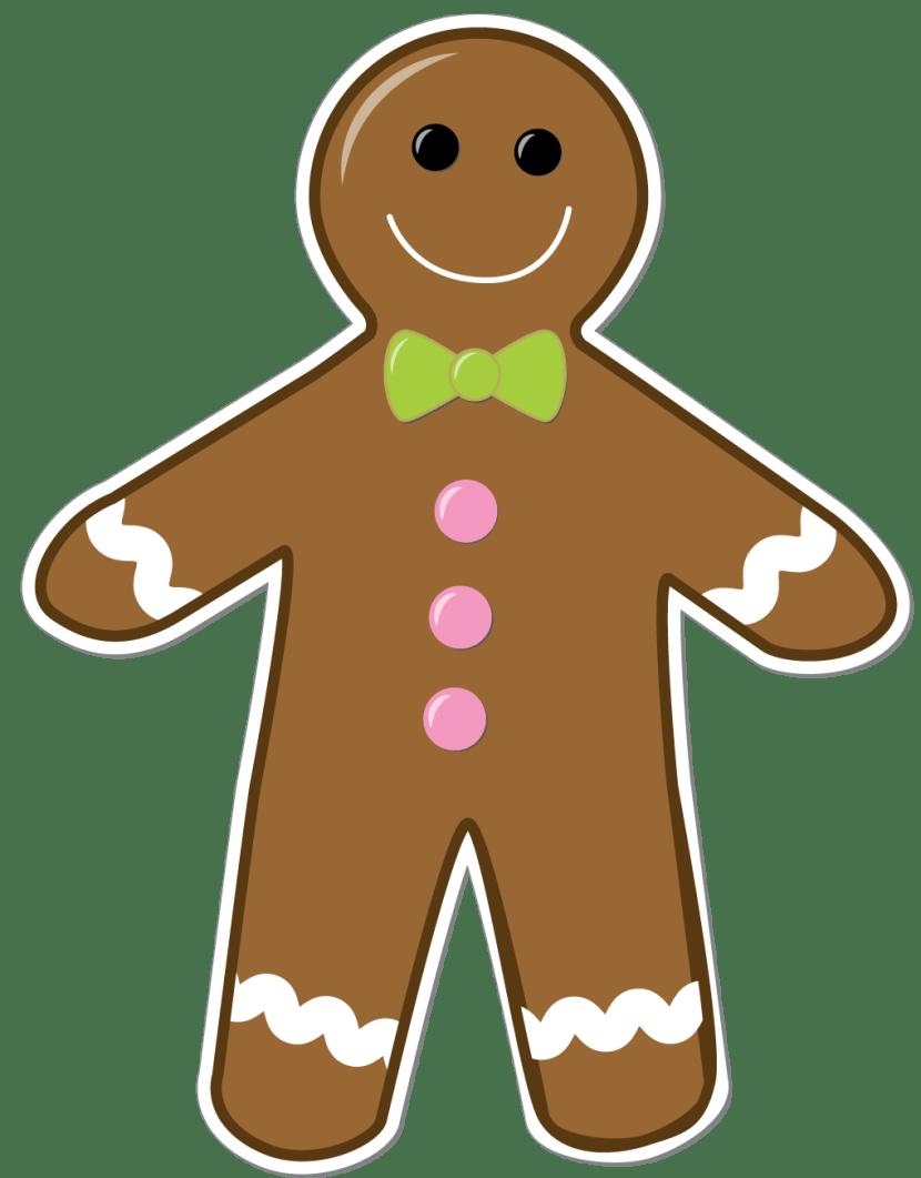 medium resolution of gingerbread man clipart png