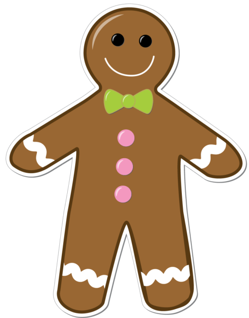 small resolution of gingerbread man clipart png