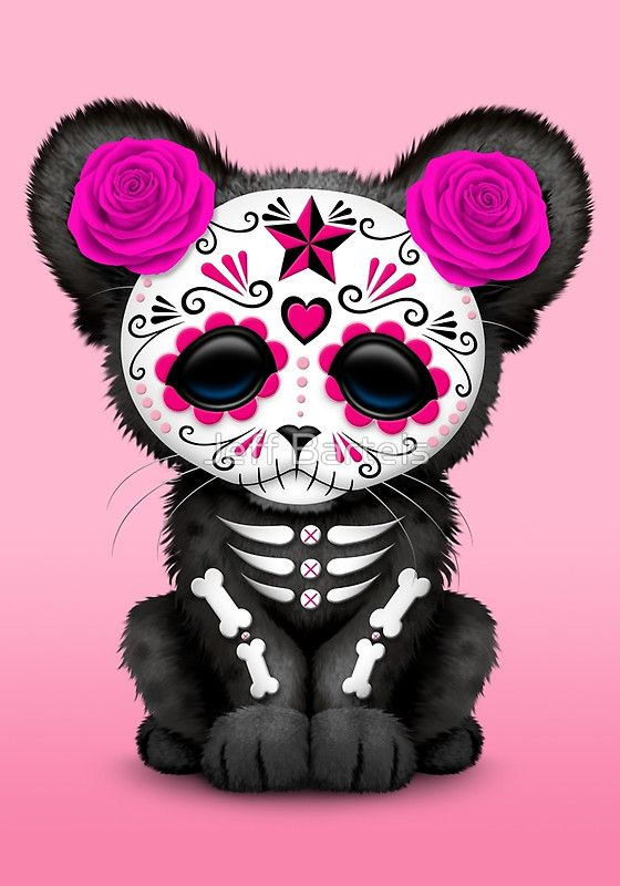 Cute Sugar Skull Wallpaper Cult Of The Dead Clipart Clipground